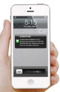 Cell Phone - Soberlink